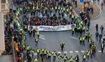 Protest policjantów w Barcelonie. Chcą podwyżki do 1500 euro