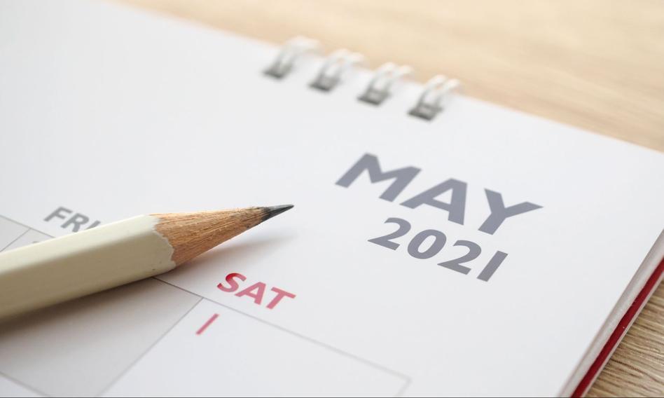Bankowy rozkład jazdy na maj 2021 r.
