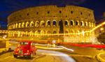 Koloseum z nowym oświetleniem