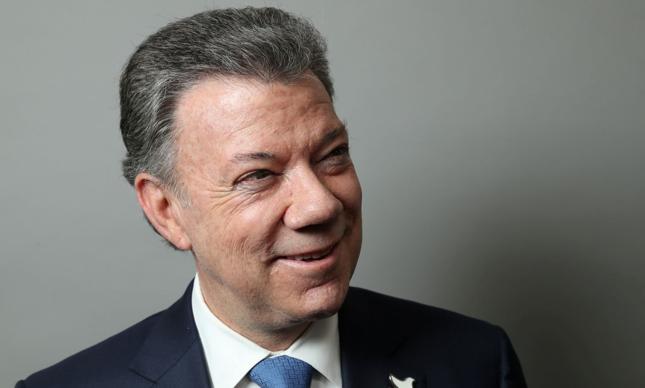 Prezydent Kolumbii Juan Manuel Santos