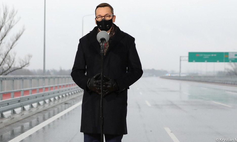 Premier otworzył część Południowej Obwodnicy Warszawy