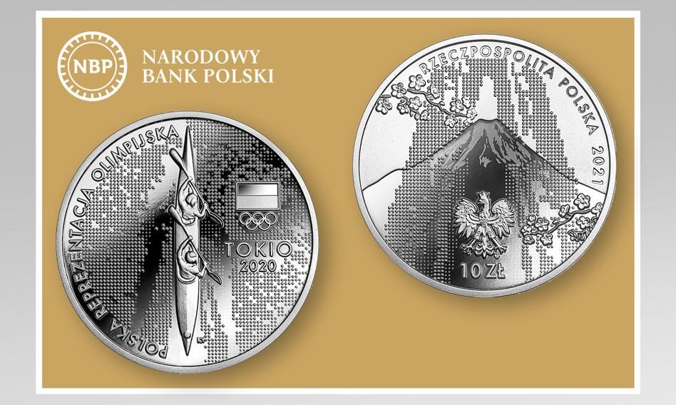 NBP wyemitował srebrną monetę kolekcjonerską z okazji igrzysk w Tokio