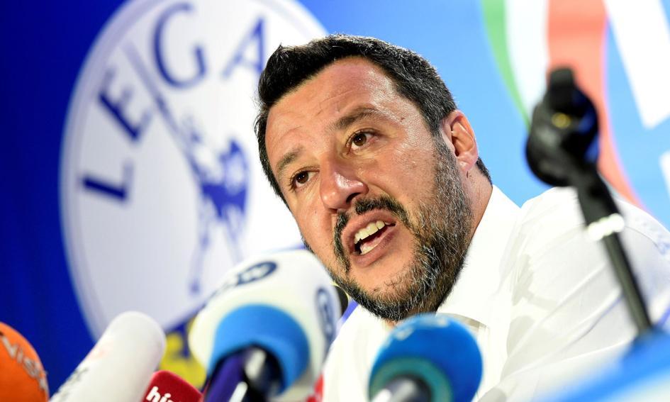 Salvini po spotkaniu z Morawieckim i Orbanem: lewica ma obsesję na moim punkcie
