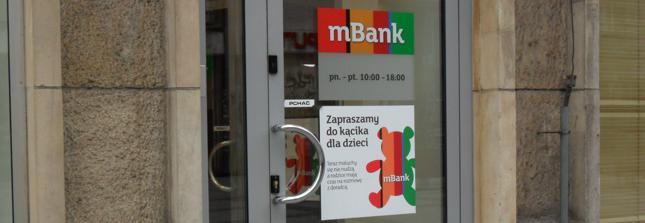Wnioski o 500 zł na dziecko także w mBanku i Orange Finanse