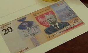 """""""Warto być Polakiem"""". Będzie banknot z Lechem Kaczyńskim"""