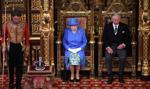 Królowa Elżbieta II przedstawiła plany rządu