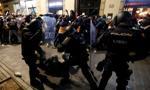 Kolejny dzień starć policji z separatystami w miastach Katalonii