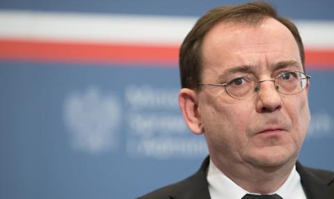 Minister Mariusz Kamiński przebywa na kwarantannie