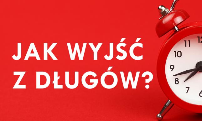 """""""Jak wyjść z długów?"""" - cykl porad dla dłużników w Bankier.pl. Kliknij, żeby zobaczyć pozostałe poradniki (Bankier.pl)"""
