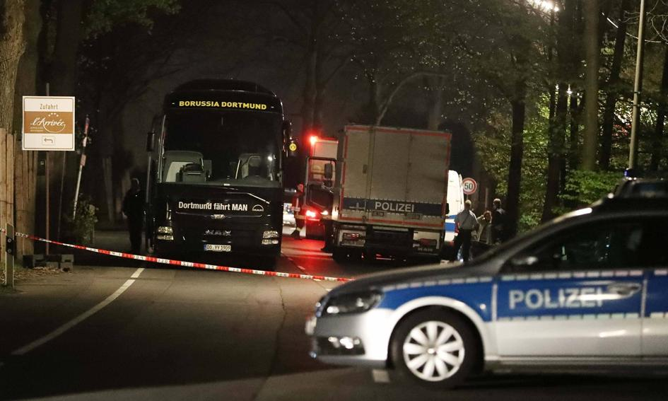 Niemcy: zatrzymano podejrzanego ws. zamachu na autobus z piłkarzami
