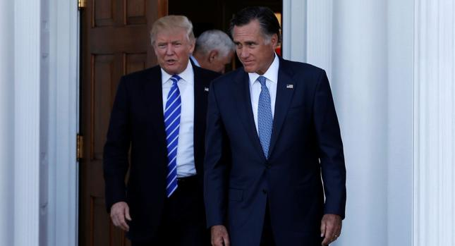 Donald Trump i Mitt Romney