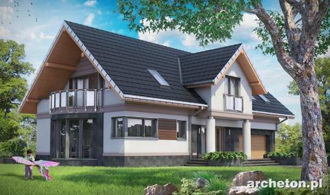 <h6>Gotowy projekt domu - Modesta</h6>