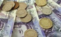 Funt osłabł po fatalnych danych z brytyjskiej gospodarki