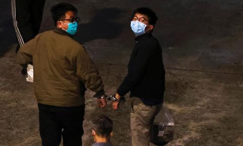 Hongkong: Joshua Wong i dwoje innych działaczy skazanych na więzienie za protest