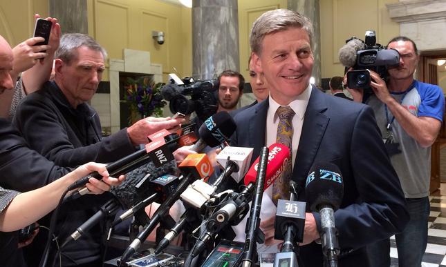 Bill English zaprzysiężony jako premier Nowej Zelandii