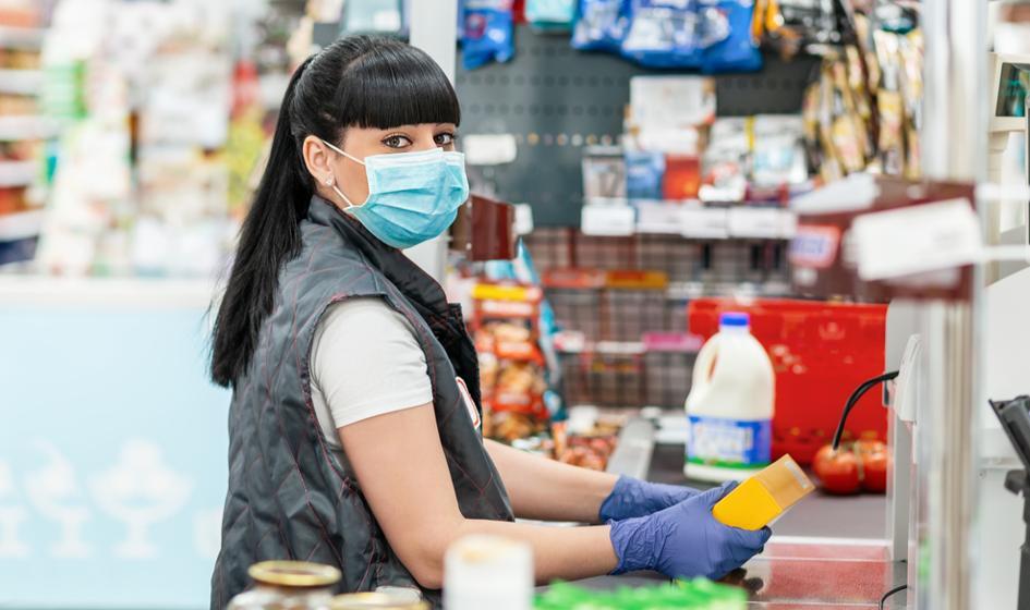 Niemieckie sieci handlowe proszą klientów o szczepienie się przeciwko koronawirusowi