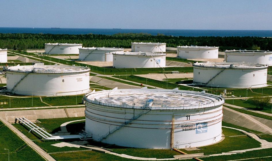PERN: w 2022 r. baza magazynowa paliw zwiększy się o 224 tys. m sześc.