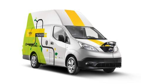 InPost rozbudowuje flotę o 40 nowych samochodów elektrycznych