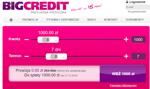 Bigcredit – jakie warunki pożyczki?