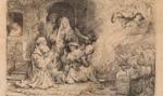Grafika Rembrandta wystawiona na aukcji