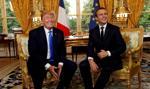 Macron: Przekonałem Trumpa, by pozostawił siły USA w Syrii