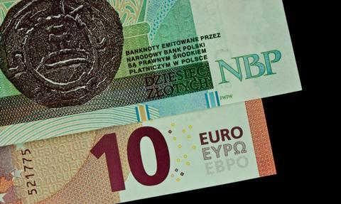Amerykanie pomogli złotemu. Kurs euro powyżej 4,46 zł