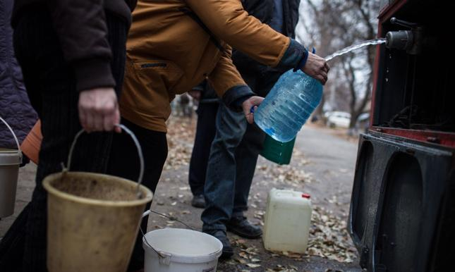Władze Ukrainy grożą odcięciem wody dla części obwodu ługańskiego
