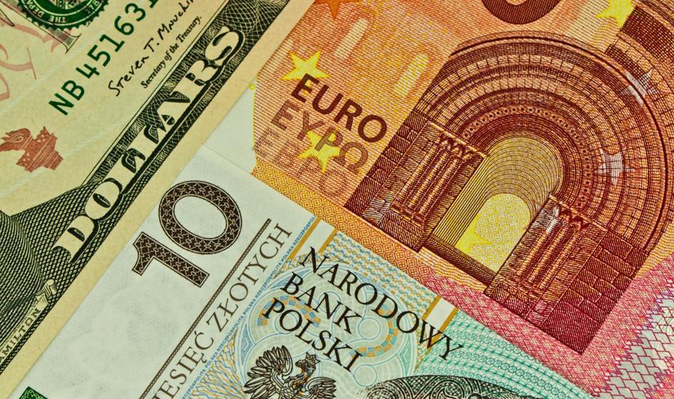 Kurs euro spada drugi dzień z rzędu