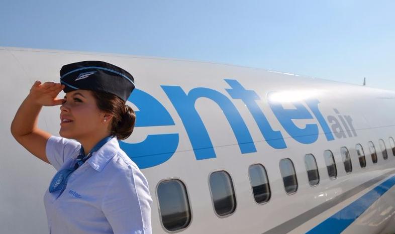 Liczba lotów Enter Air w III kw. 2021 roku może być zbliżona do III kw. 2019 roku