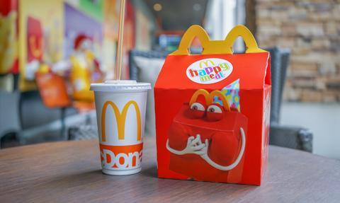 McDonald's chce być eko. Wycofa plastikowe zabawki z zestawów Happy Meal