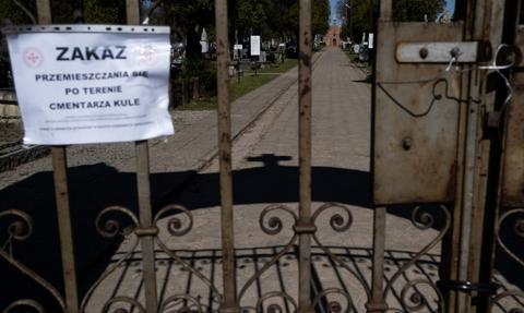 Opublikowano rozporządzenie wprowadzające czasowe zamknięcie cmentarzy