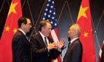 Negocjatorzy z Chin i USA wyrazili poparcie dla wstępnego porozumienia handlowego