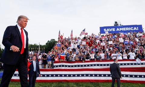 """Trump: Wybory 2020 r. zostały skradzione i były """"zbrodnią stulecia"""""""