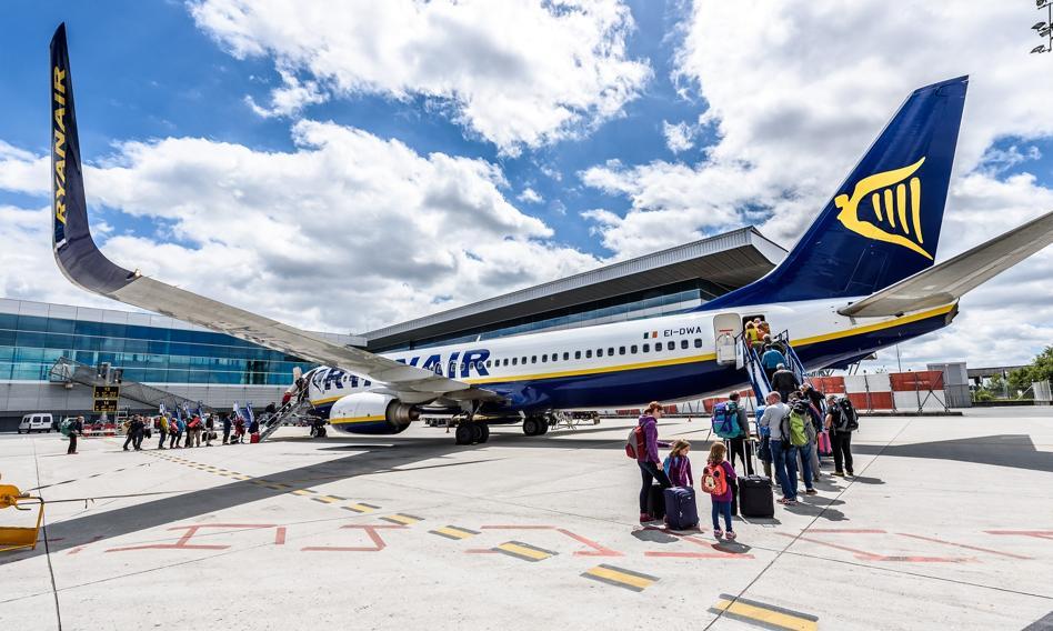 Ryanair ogłasza kolejne letnie trasy z Polski