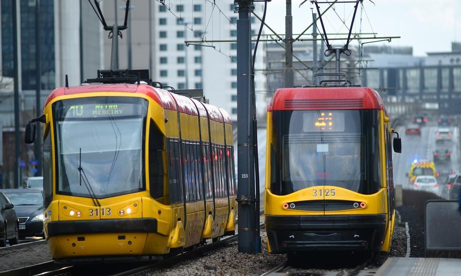 Polskie tramwaje nie są demonami prędkości. Średnio poniżej 20 km/h