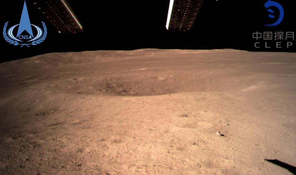 Chińska sonda wylądowała na niewidocznej stronie Księżyca