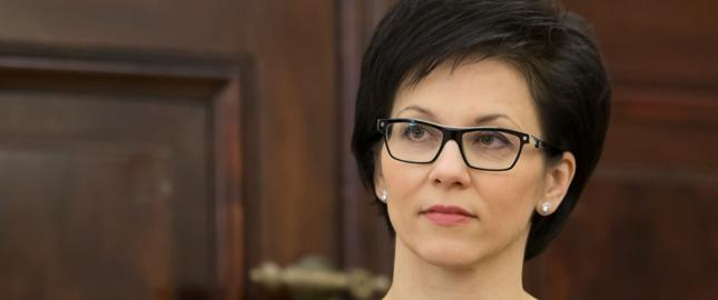 Szefowa GPW Małgorzata Zaleska