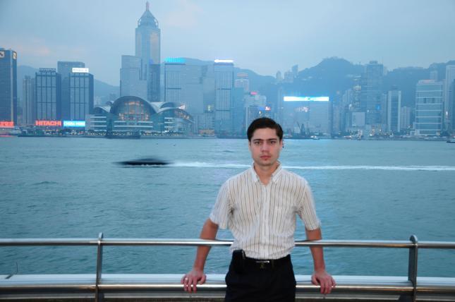 Mariusz Boguszewski - Polak w Hongkongu