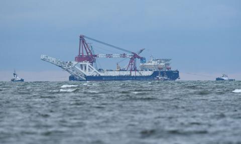 Sankcje USA wobec rosyjskiego statku budującego Nord Stream 2