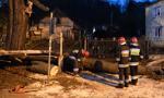Ponad 1800 interwencji strażaków po wichurach; jedna ofiara śmiertelna