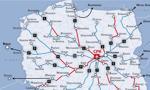 CPK pokazuje mapę nowych połączeń kolejowych