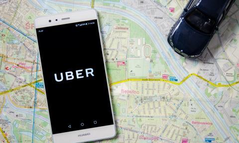 Kierowca Ubera jak kurier - dostarczy paczkę