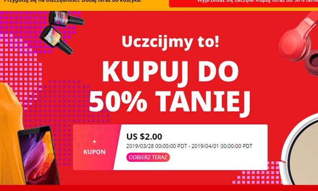 6b8a8684c Wyprzedaż rocznicowa na AliExpress. Specjalne promocje dla Polaków ...
