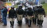 MSW Białorusi: w razie potrzeby będzie używana broń palna