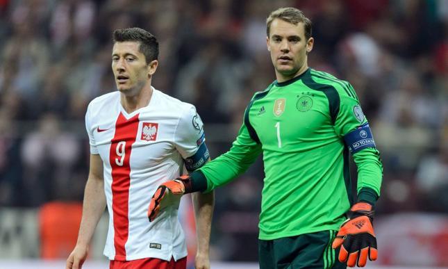 Robert Lewandowski i Manuel Neuer