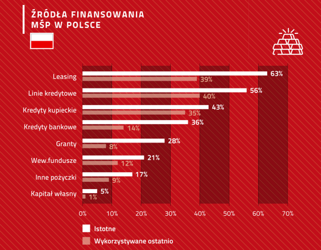 Źródła finansowania MŚP w Polsce
