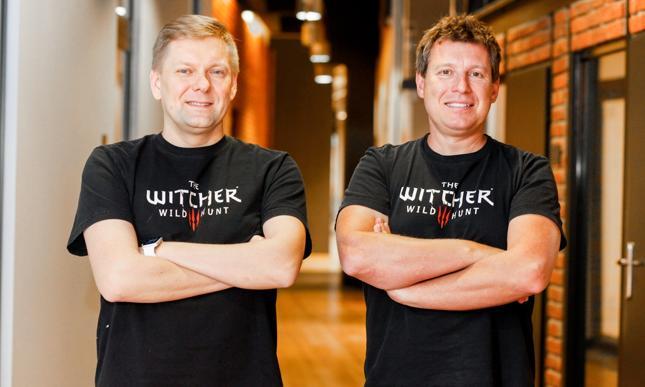 Wiceprezes ds. finansowych Piotr Nielubowicz i prezes Adam Kiciński