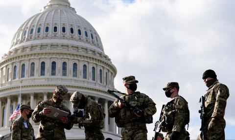 Bez tłumów, ale z tysiącami żołnierzy - rusza tydzień inauguracyjny Joe Bidena