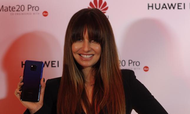Anna Lewandowska jest twarzą marki Huawei w Polsce