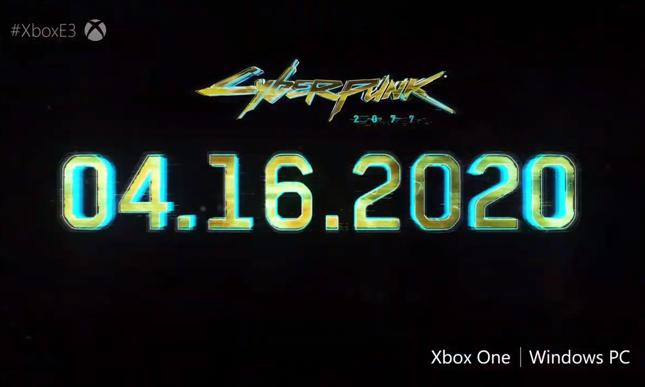 """Premiera """"Cyberpunka 2077"""" 16 kwietnia 2020 roku"""